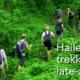 Hailey trekking late April